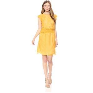 ⭐️Ella Moon Yellow Ruffled Dress Medium